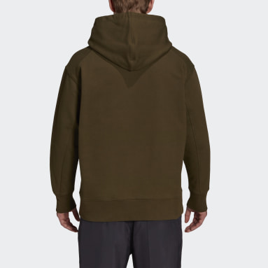 Men Y-3 Green Y-3 Classic Chest Logo Hoodie
