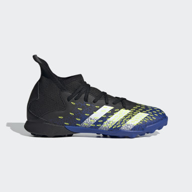 Zapatos de fútbol Predator Freak.3 Pasto Sintético Negro Niño Fútbol
