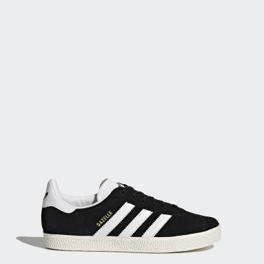 Kids Originals Black Gazelle Shoes