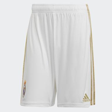 Short Home Real Madrid Bianco Uomo Calcio