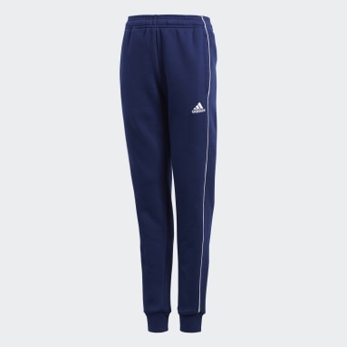 Kids Gym & Training Blue Core 18 Sweat Tracksuit Bottoms