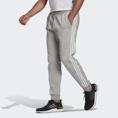 Men Sportswear Grey adidas Sportswear 3-Stripes Sweat Pants