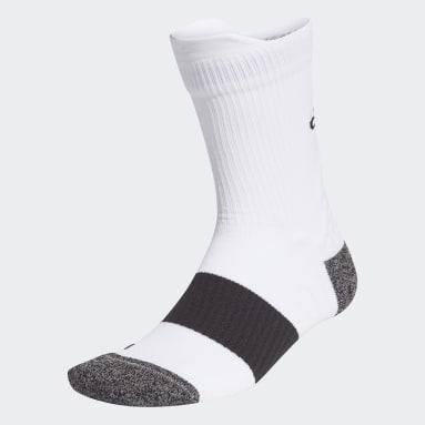 Training White Running Ultralight Crew Performance Socks