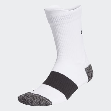 Training White Running Ultralight Crew Performance Socks