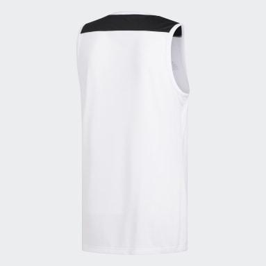 Maglia Creator 365 Bianco Uomo Basket