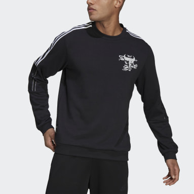 Sweat-shirt CNY Real Madrid Noir Hommes Football