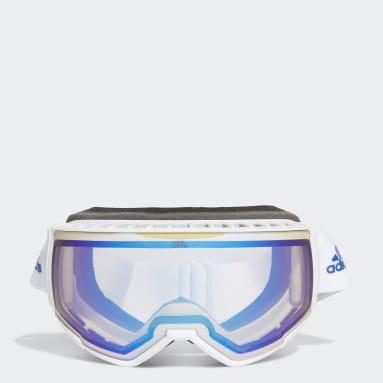 Zimní Sporty bílá Lyžařské brýle SP0039