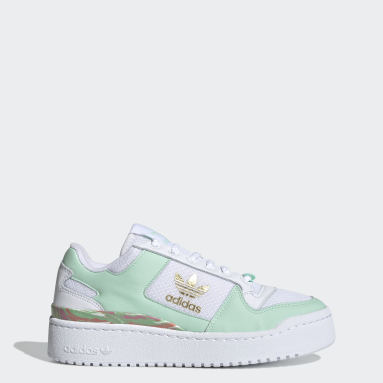 Women Originals White Forum Bold Shoes