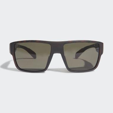 Padel Tennis Brun SP0006 Matte Blue Injected Sport solbriller