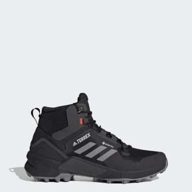 TERREX Black Terrex Swift R3 Mid GORE-TEX Hiking Shoes