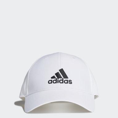 Cappellino Baseball Bianco Pallavolo