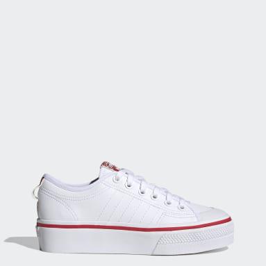 Chaussure Nizza Platform Blanc Femmes Originals