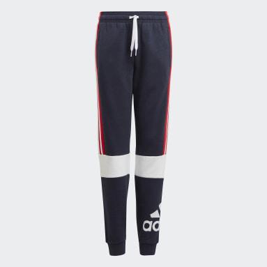 Pantalón adidas Essentials Colorblock Azul Niño Sportswear
