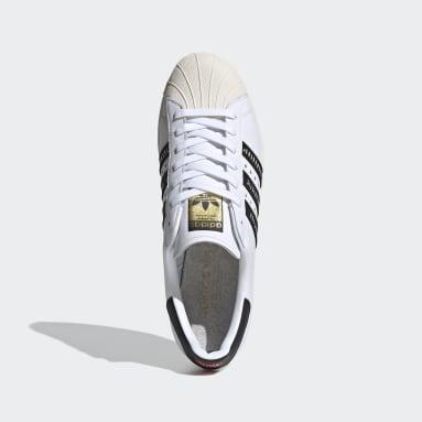 Originals Wit Superstar 80s Human Made Schoenen