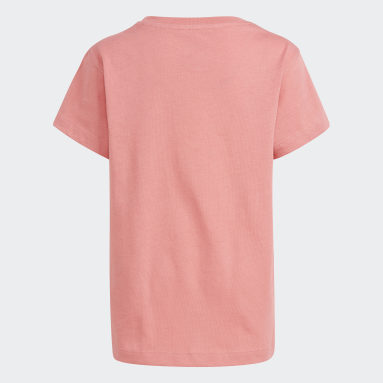 Kids Originals Pink Trefoil T-Shirt