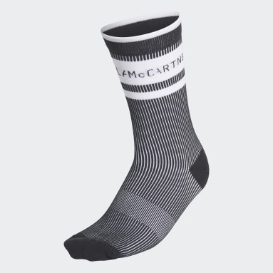 Women adidas by Stella McCartney Black adidas by Stella McCartney Crew Socks