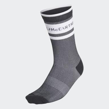 Dam adidas by Stella McCartney Svart adidas by Stella McCartney Crew Socks