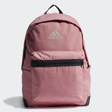 Handball Pink Classic Twill Fabric Backpack