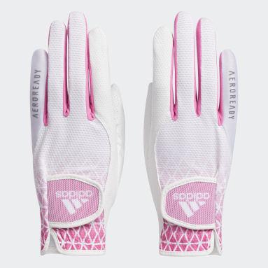 Women Golf White Gloves