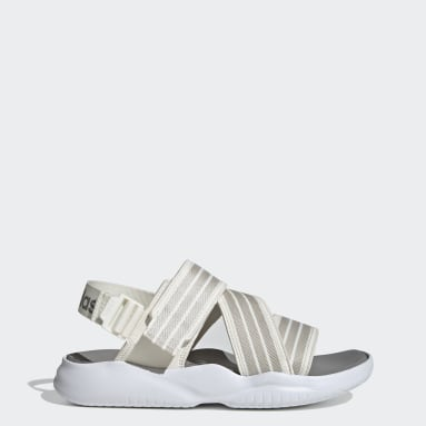 Women's Swim White 90s Sandals