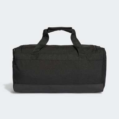 Tennis Black Essentials Logo Duffel Bag Extra Small