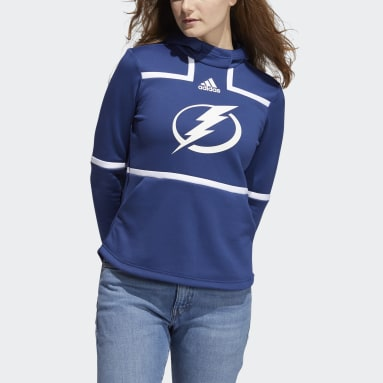 Women's Hockey Multicolor Lightning Under the Lights Hoodie