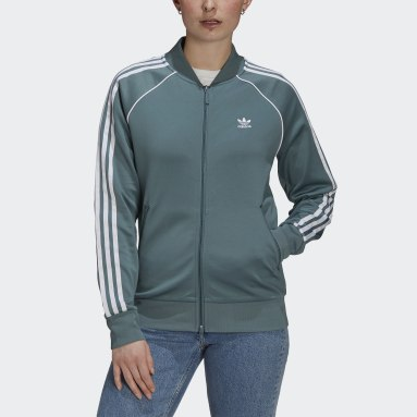 Women Originals Green Primeblue SST Track Jacket