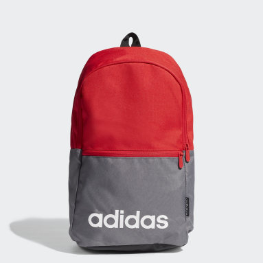 Sport Inspired Red Linear Classic Daily Backpack
