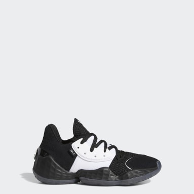 Youth Basketball Black Harden Vol. 4 Shoes