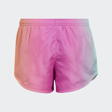 Youth Training Pink Ombré Woven Shorts