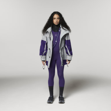Women adidas by Stella McCartney Silver adidas by Stella McCartney Reflective Jacket