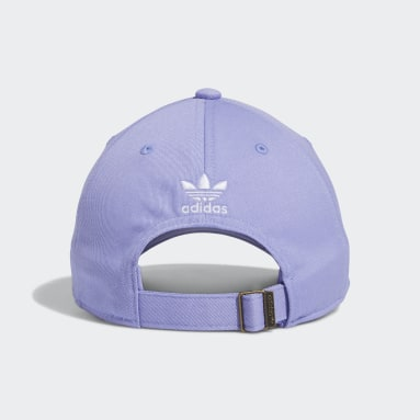 Men's Originals Purple Relaxed Strap-Back Hat