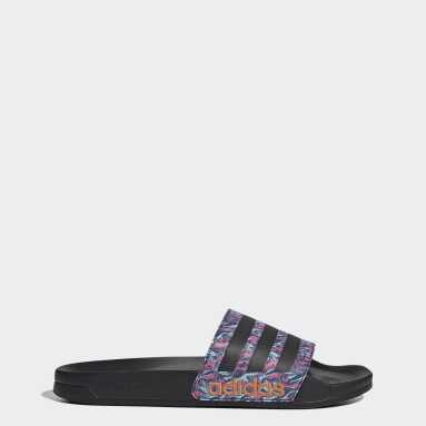 Swimming Black Adilette Shower Sandals