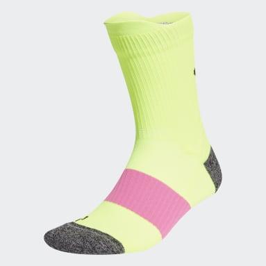 Hardlopen Geel Running Ultralichte Performance Sokken