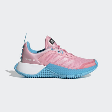 Kids Running Pink adidas Sport x Classic LEGO® Shoes
