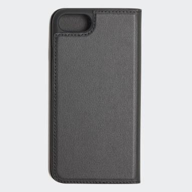 Originals Black Basic Logo Flip Case iPhone 8