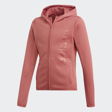 Youth Training Pink Gear Up Hoodie