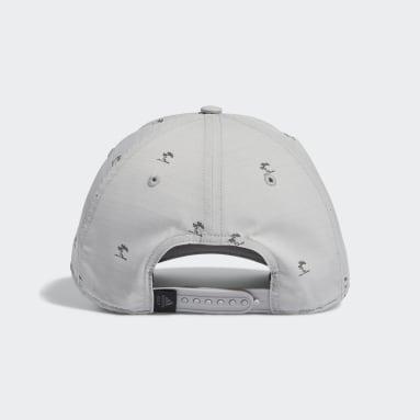 Men Golf Grey TP Print Hat