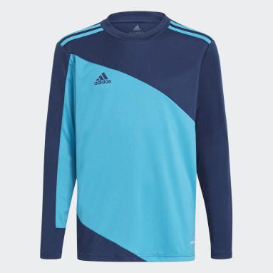 Boys Football Blue Squadra 21 Goalkeeper Jersey