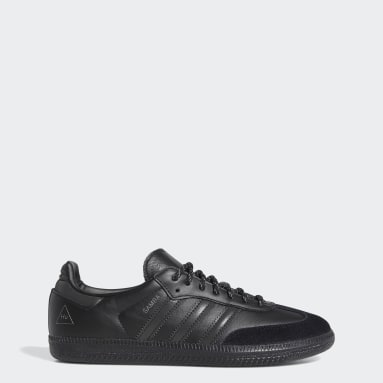 Men Originals Black Pharrell Williams Samba Shoes