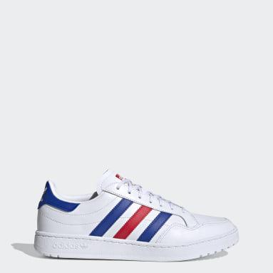 Originals White Team Court Shoes