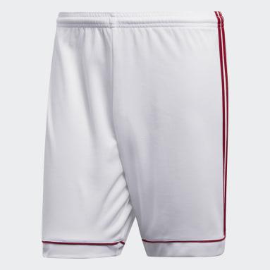 Pantalón corto Squadra 17 Blanco Hombre Gimnasio Y Entrenamiento