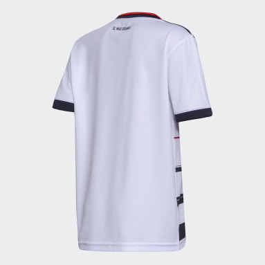 Camiseta Tercer Uniforme River Plate Blanco Niño Fútbol
