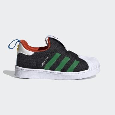 Kinderen Originals Zwart adidas Superstar 360 x LEGO® Schoenen