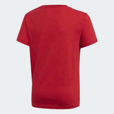 Kinder Originals Trefoil T-Shirt Rot