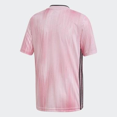 Youth Soccer Pink Tiro 19 Jersey