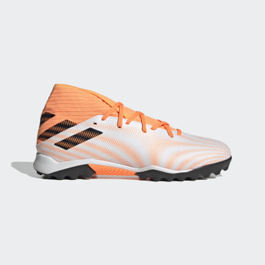 Men's Soccer White Nemeziz.3 Turf Shoes