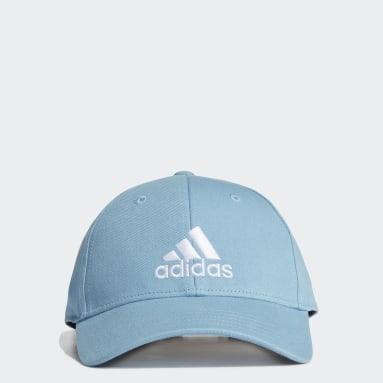 Cricket Baseball Kappe Blau