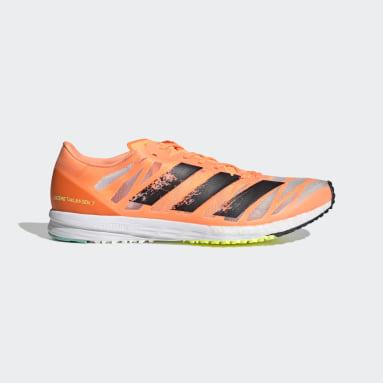 Hardlopen Oranje Adizero Takumi Sen 7 Schoenen