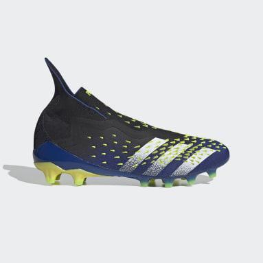 Football Black Predator Freak+ Artificial Grass Boots